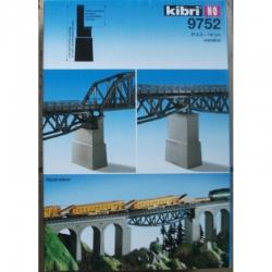 H0 zděný mostní pilíř 1kus