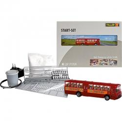 H0 Car System - Start -set s autobusem MB 0317k -Jägermeister-