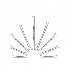 H0 universální drát vrchního vedení 160mm
