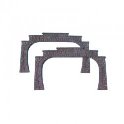 H0 tunelový portál dvoukolejný