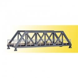 H0 ocelový most -jednokolejný-