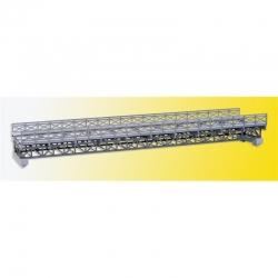 H0 příhradový ocelový most -jednokolejný-