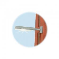 H0 lampa průmyslová nástěnná LED bílá