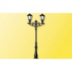 H0 lampa -plynová dvouplamenná- 55mm