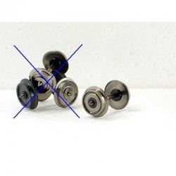 H0 dvojkolí ø11,4mm oboustranně isolované