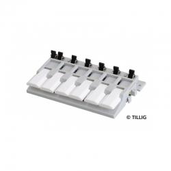 Ovládací pult  -klávesnice-