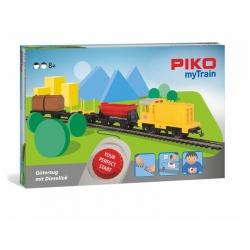 H0 sada myTrain s motorovou lokomotivou a nákladním vlakem