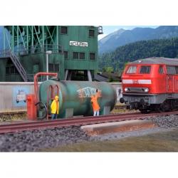 H0 čerpací stanice Schwarzbau