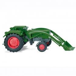H0 traktor -Fendt Farmer 2S- s čelním nakladačem