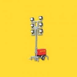 H0 světelné refloktory s přívěsem