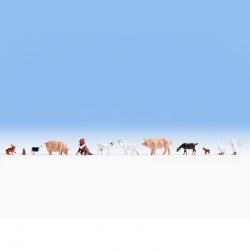 TT zvířata na farmě 10 figurek