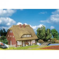 H0 dům s doškovou střechou