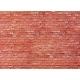 H0 papírová dekorační deska s plastickým motivem -pískovec červený-