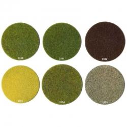 Statická tráva - žlutá - 20g  2-3mm