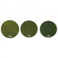Statická tráva - tmavě zelená - 50g  2-3mm