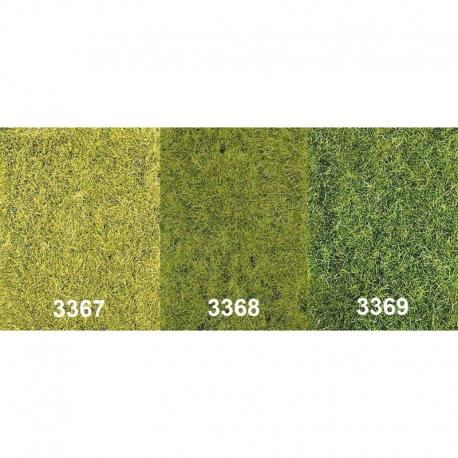 Statická tráva - středně zelená - 75g 5-6mm
