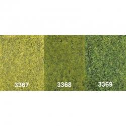 Statická tráva - tmavě zelená - 75g 5-6mm
