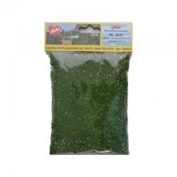 Jemně drcený molitan -středně zelený-