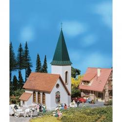 H0 vesnický kostel