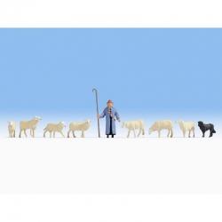 H0 pasáček ovcí
