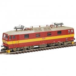 N - elektrická lokomotiva 372 -Bastard- ČD ep.V