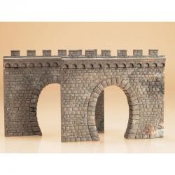 H0 tunelový portál -jednokolejný- 2ks