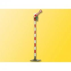 H0 jednoramenný semafor -trubkový stožár-