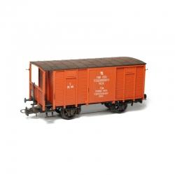 H0 uzavřený nákladní vůz HTB -polní pošta- stavebnice