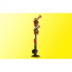 TT mechanické návěstidlo -dvouramenné spřažené s jedním elektromagnetem-
