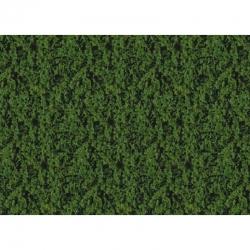 Foliáž na tvorbu zeleně -tmavě zelená- 14 x 28 cm