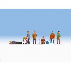 H0 - bezdomovci 6 figurek