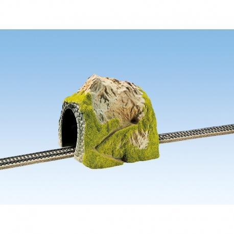 H0 - tunel přímý -jednokolejný-