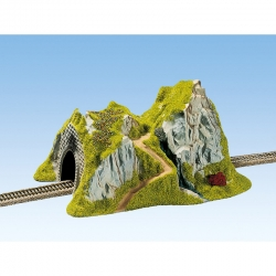 TT tunel jednokolejný rovný