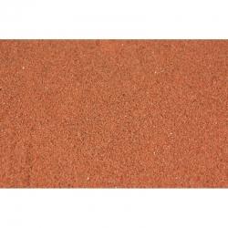 Štěrk jemný -červenohnědý- 0,1-0,6mm 200g