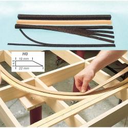 H0 - flexi korkové podloží pod koleje ( pouze osobní odběr nebo dobírka dle tarifu CP)
