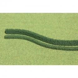 Flexibilní živé ploty -tmavě zelené- 3kusy