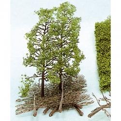 H0/TT sada k tvorbě stromů  10 stromů 18cm