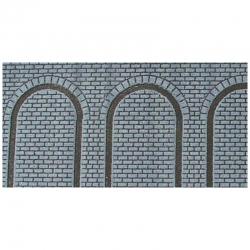H0/TT - arkádová stěna 2ks