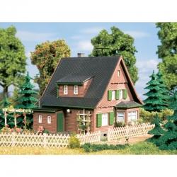 H0/TT dřevěný dům Erika