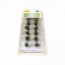 Nízké keře - mikro listí - zelená dubová  - 14kusů