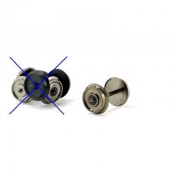 H0 dvojkolí ø11mm jednostranně isolované