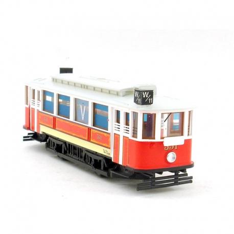 H0 maketa tramvaje z Protektorátu