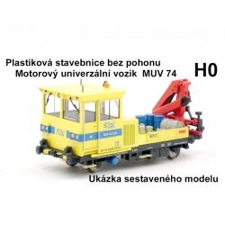 H0 - stavebnice MUV 74 bez pohonu
