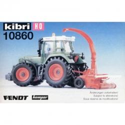 H0 Fendt -zemědělský traktor -