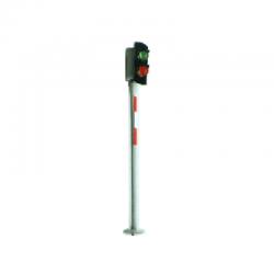 TT stožárové návěstidlo ( 2 světla zelená/červená)
