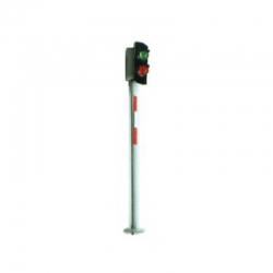 H0 dvousvětelné návěstidlo zelená/ červená