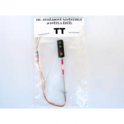TT  stožárové návěstidlo -4 světla žzčž