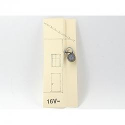 H0 nástěnné hodiny model 2