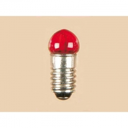 Žárovička se závitem červená 16V