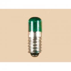 Žárovička se závitem zelená 16V